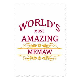 Amazing Memaw Card