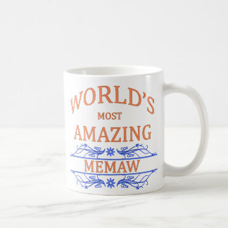 Amazing Memaw Coffee Mug
