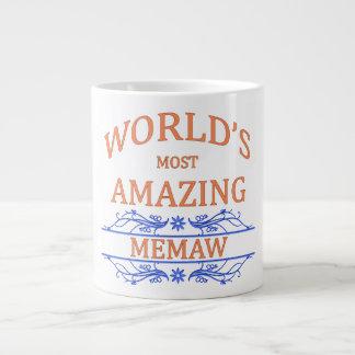 Amazing Memaw Giant Coffee Mug