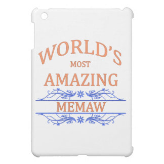 Amazing Memaw iPad Mini Cover