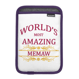 Amazing Memaw iPad Mini Sleeve