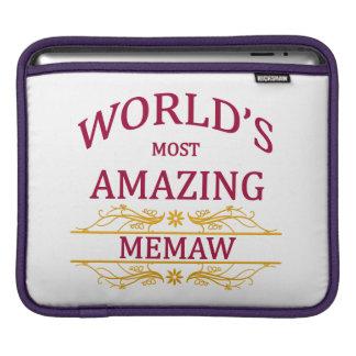 Amazing Memaw iPad Sleeve