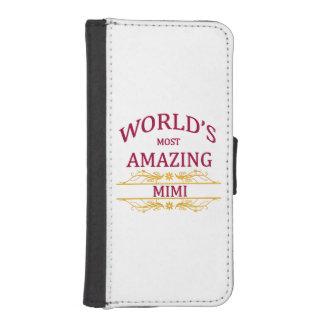 Amazing Mimi iPhone SE/5/5s Wallet