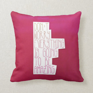 Amazing mindfulness inspiration home deco pillow