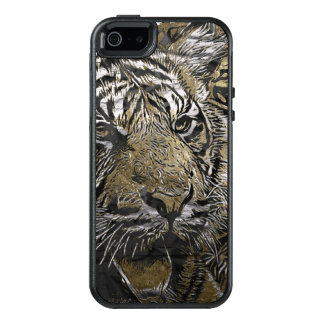 Amazing modified Tiger OtterBox iPhone 5/5s/SE Case