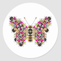 Amazing Monarch Butterfly Quilt Sticker