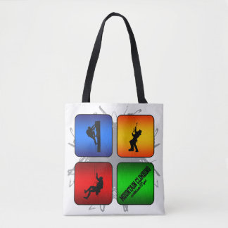 Amazing Mountain Climbing Urban Style Tote Bag