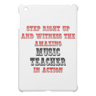 Amazing Music Teacher In Action Cover For The iPad Mini