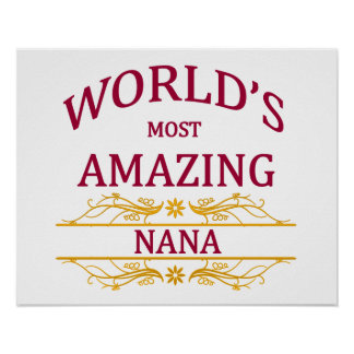 Amazing Nana Poster