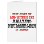 Amazing Neurosurgeon In Action Greeting Card