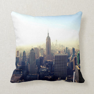 Amazing New York City Views Throw Pillow