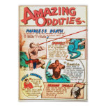 Amazing Oddities Poster