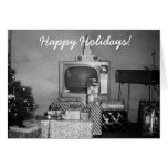 Amazing Old 1950's Christmas Vintage Holiday Decor Card