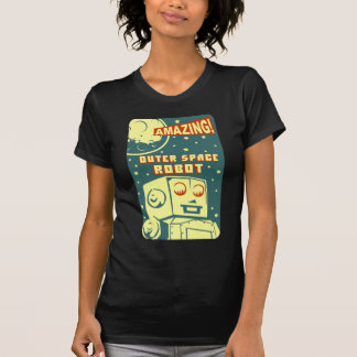 Amazing Outer Space Robot T-Shirt