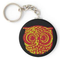 amazing owl bird keychain