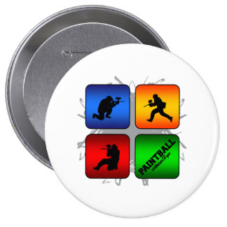 Amazing Paintball Urban Style Button