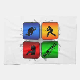 Amazing Paintball Urban Style Hand Towel
