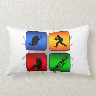 Amazing Paintball Urban Style Lumbar Pillow