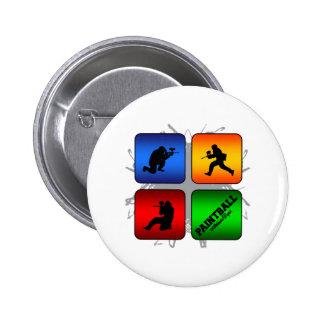 Amazing Paintball Urban Style Pinback Button