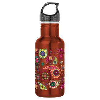 Amazing Paisley 18oz Water Bottle