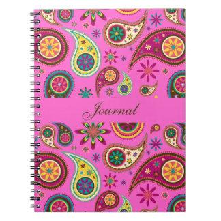 Amazing Paisley Spiral Notebook