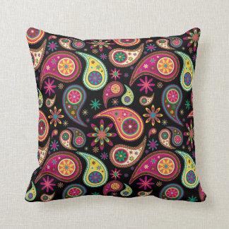 Amazing Paisley Throw Pillow
