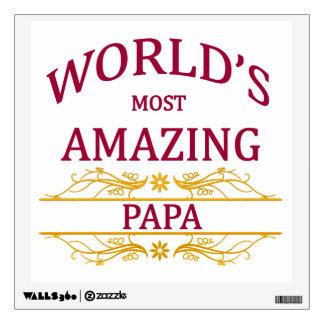 Amazing Papa Wall Sticker