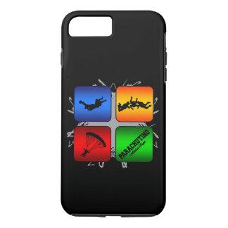 Amazing Parachuting Urban Style iPhone 7 Plus Case
