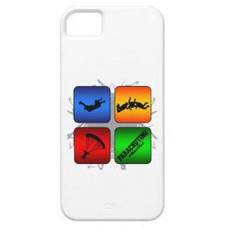 Amazing Parachuting Urban Style iPhone SE/5/5s Case