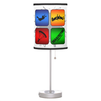 Amazing Parachuting Urban Style Table Lamp