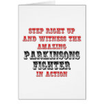 Amazing Parkinsons Fighter In Action Greeting Cards