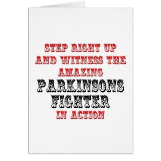 Amazing Parkinsons Fighter In Action Card