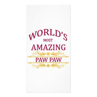 Amazing Paw Paw Card