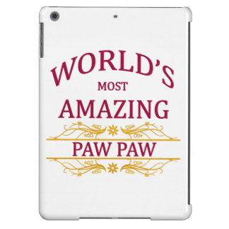 Amazing Paw Paw iPad Air Case