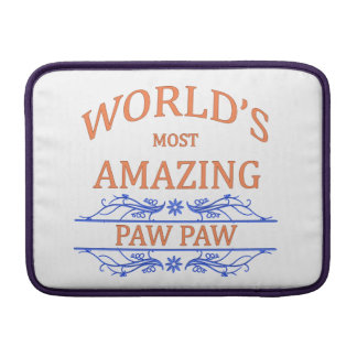 Amazing Paw Paw MacBook Sleeve