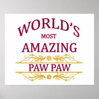 Amazing Paw Paw Poster