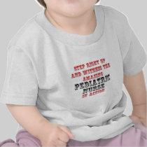 Amazing Pediatric Nurse In Action Shirt