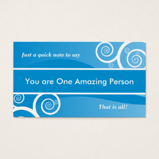 Amazing Person Card Anonymous