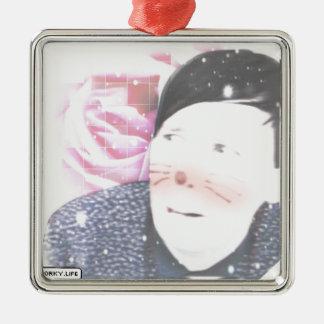 Amazing Phil Metal Ornament