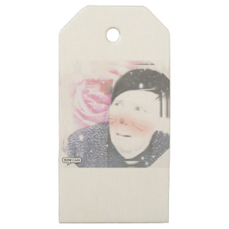 Amazing Phil Wooden Gift Tags
