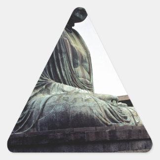 Amazing photo of Buddha Triangle Sticker