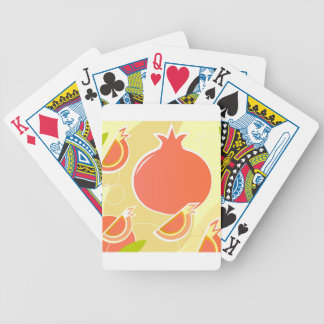 Amazing Pomegranate handdrawn Edition Bicycle Playing Cards