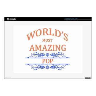 "Amazing Pop 15"" Laptop Skin"