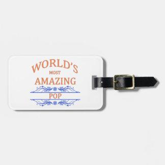 Amazing Pop Luggage Tag