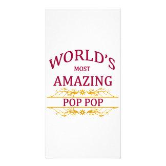 Amazing Pop Pop Card