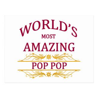 Amazing Pop Pop Postcard
