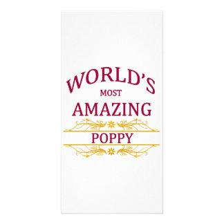 Amazing Poppy Card