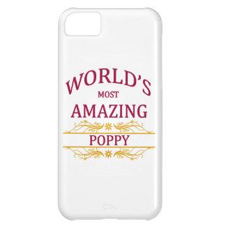 Amazing Poppy Cover For iPhone 5C