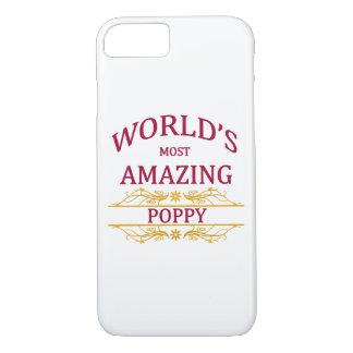 Amazing Poppy iPhone 7 Case