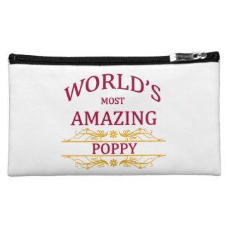 Amazing Poppy Makeup Bag